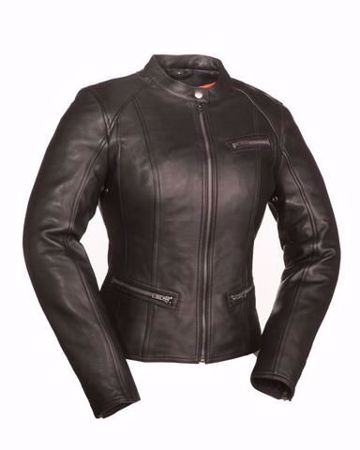 Picture of First Mfg. Ladies Leather Jacket - Fashionista