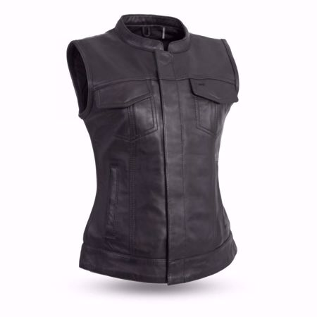 Picture of First Mfg. Ladies Leather Vest - Ludlow
