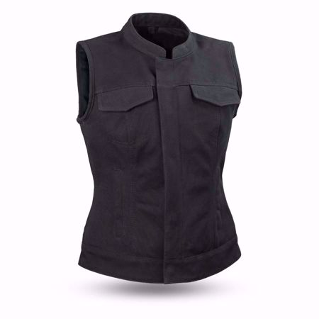 Picture of First Mfg. Ladies Canvas Vest - Ludlow