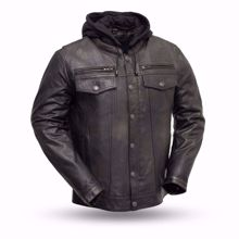 Picture of First Mfg. Men's Leather Jacket - Vendetta