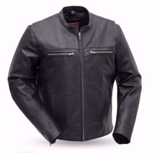 Picture of First Mfg. Men's Leather Jacket - Rocky