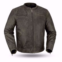 Picture of First Mfg. Men's Leather Jacket - Drifter