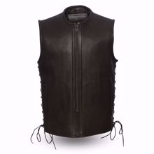 Picture of First Mfg. Men's Leather Vest - Venom