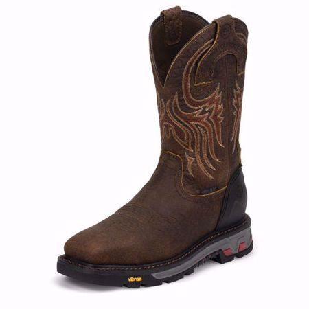 Picture of Justin Men's Driscoll Mahogany Waterproof Steel Toe