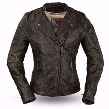 Picture of First Mfg. Ladies Leather Jacket - Jasmin