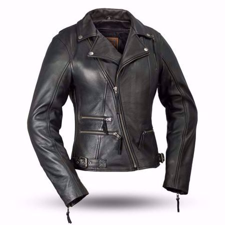 Picture of First Mfg. Ladies Leather Jacket - Monte Carlo