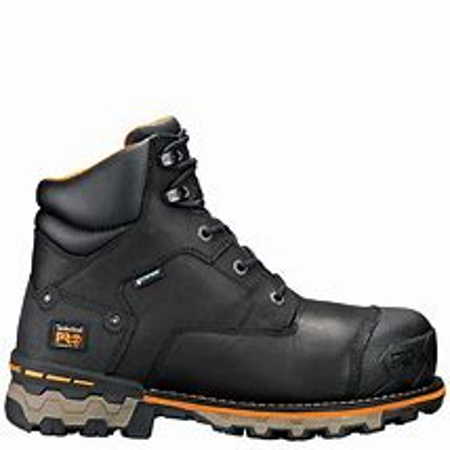 "Picture of Timberland PRO® Boondock Men's 6"" Comp Toe Work Boots - Black"