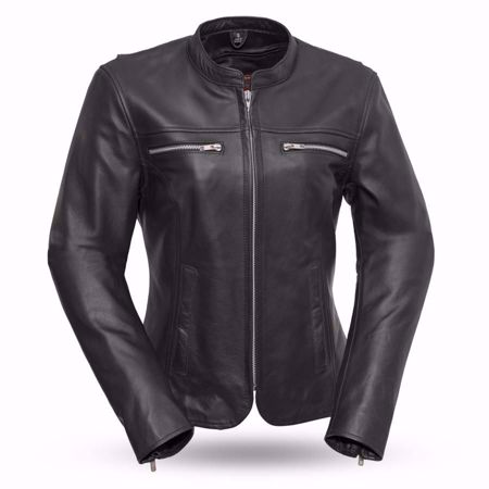 Picture of First Mfg. Ladies Leather Jacket - Roxy