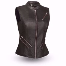 Picture of First Mfg. Ladies Leather Vest - Fairmont