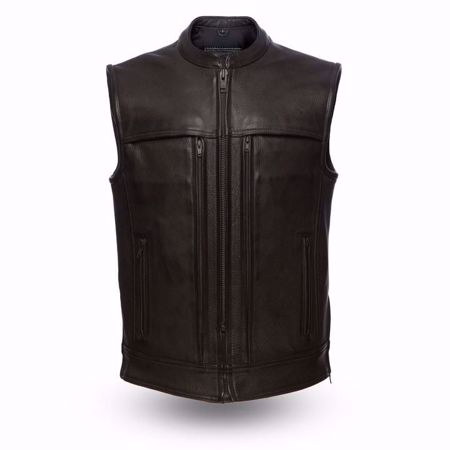 Picture of First Mfg. Men's Leather Vest - Rampage