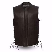 Picture of First Mfg. Men's Leather Vest - Venom