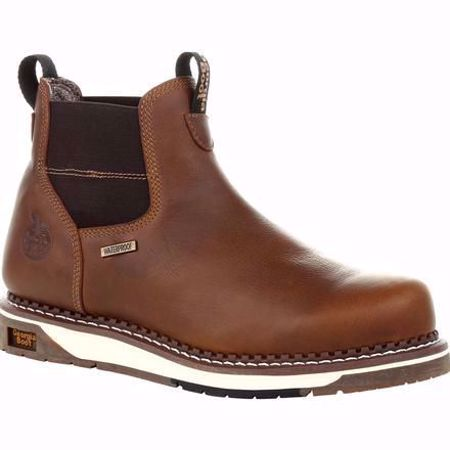 Picture of Georgia Men's Waterproof Chelsea Work Boot