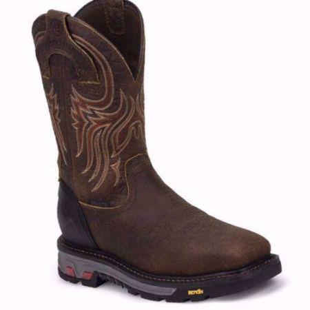 Picture of Justin Men's Driscoll Mahogany Waterproof Steel Toe