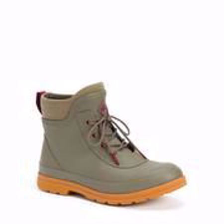 Picture of Muck Women's Original Lace Up In Taupe