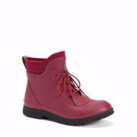 Picture of Muck Women's Original Lace Up In Berry