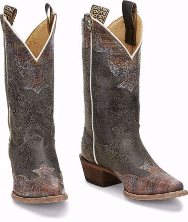 """Picture of Justin Women's 11"""" Western Vera Boot"""
