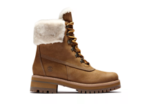 "Picture of Timberland Women's Courmayeur Valley 6""  Waterproof Shearling Boots"