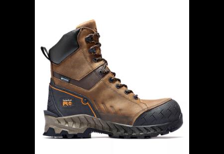 "Picture of Timberland Men's WORK SUMMIT 8"" Waterproof Composite Toe Work Boot"