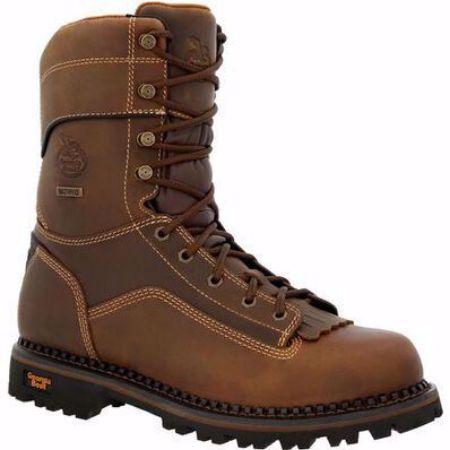 Picture of Men's Georgia Low Heel Logger Composite Toe Work Boot