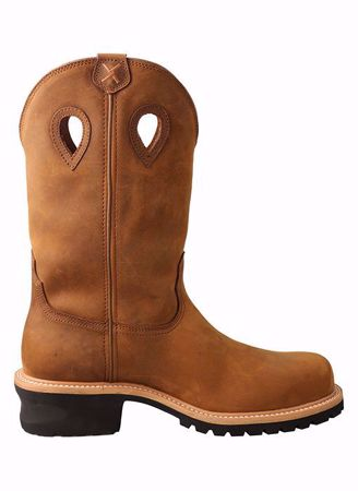 Picture of Men's 12″ Comp Toe Pull-On Logger Boot