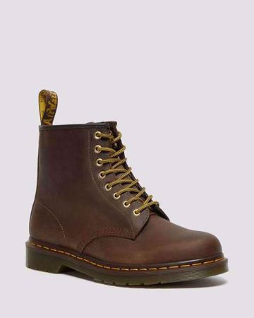 Picture of Men's Dr Martins Aztec Crazy Horse Leather Lace Up
