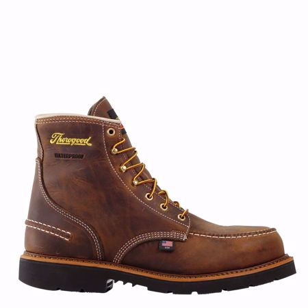 """Picture of Thorogood Men's 6"""" Moc Toe Safety Toe"""
